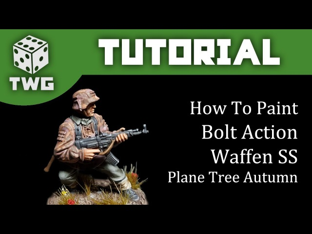 Bolt Action Tutorial: How To Paint Waffen SS - Plane Tree Autumn Camo