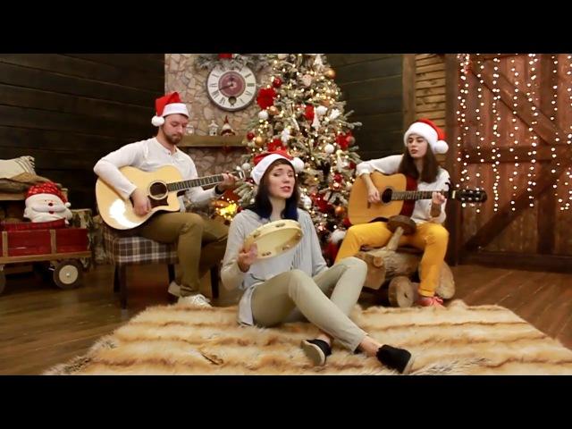 Рождественская песня на английском - Merry Christmas cover. Поздравления с рождеством кав ...