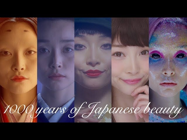 タイムスリップメイク〜日本女性 1000年の道のり〜 | 1000 years of Japanese beauty-- Evolution of women