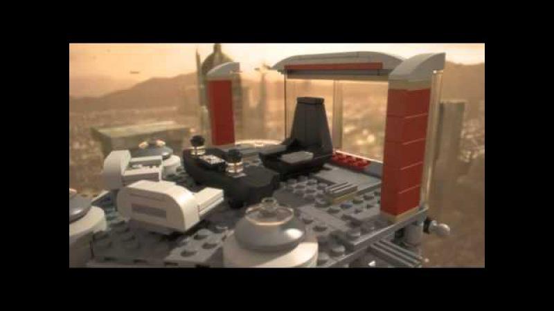 Lego Star Wars   9526   Palpatine's Arrest   Lego 3D Review