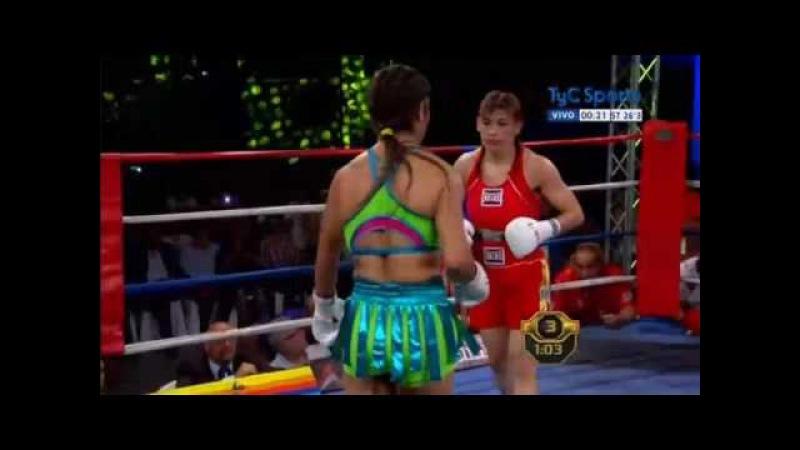 16.12.2016 - Marcela ACUÑA vs Yésica MARCOS - TITULO MUNDIAL SUPERGALLO FIB