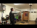 Slow Motion No Spin Knife Throwing in various styles