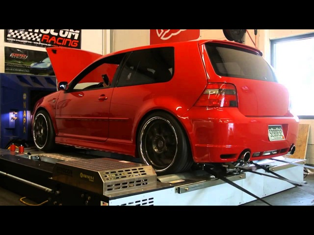 800HP VW R32 United Motorsport Tuned On E85 Dyno Pull