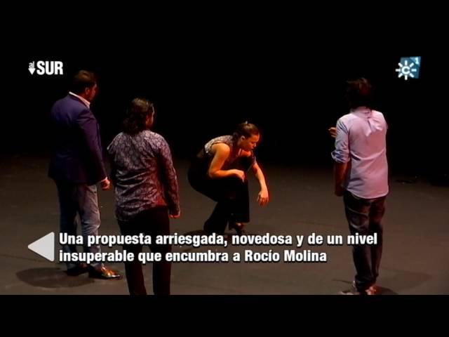 Cuatro horas de baile de Rocío Molina en la Bienal de Flamenco de Sevilla