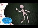 Амигуруми Карскасная Кукла Кукла Спичка Часть 1 Мастер класс Вяжем крючком Авторская работа