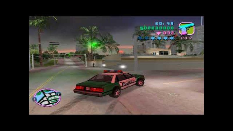 GTA Vice City Война с копами 4 звезды без читов и модов