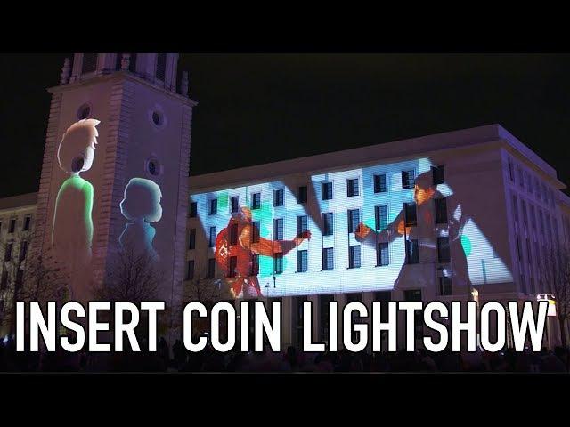Insert Coin - Bandai Namco Lightshow (Fêtes des lumières - Lyon)