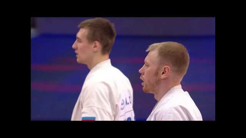 The 3rd KWUCHAMP 2017 Final Мен -85Kg. Alexandr Drozd vs. Vladimir Artyushin