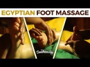 Egyptian Foot Massage, in Cambodia! With sea salt exfoliation - natural ASMR