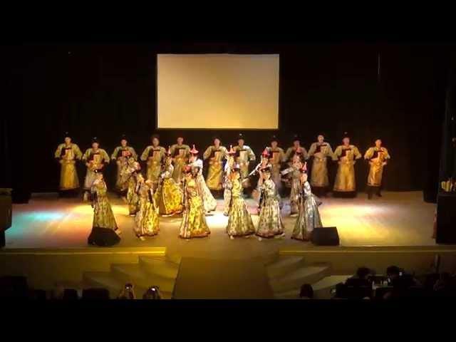 «Торжественный танец» - исп. хореографическая группа ансамбля «Байкальские вол ...