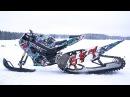Suzuki 1000cc GSX R Snow Bike 170HP