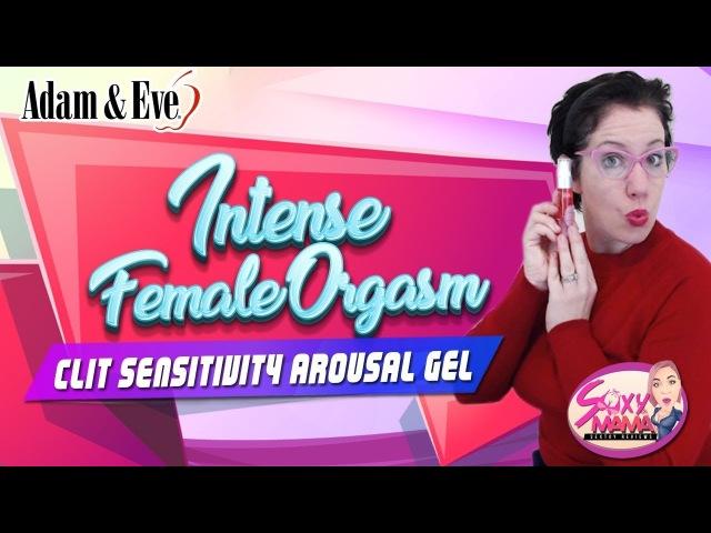 Intense Female Orgasm Mom Tries Adam and Eve's Clit Sensitivity Arousal Gel