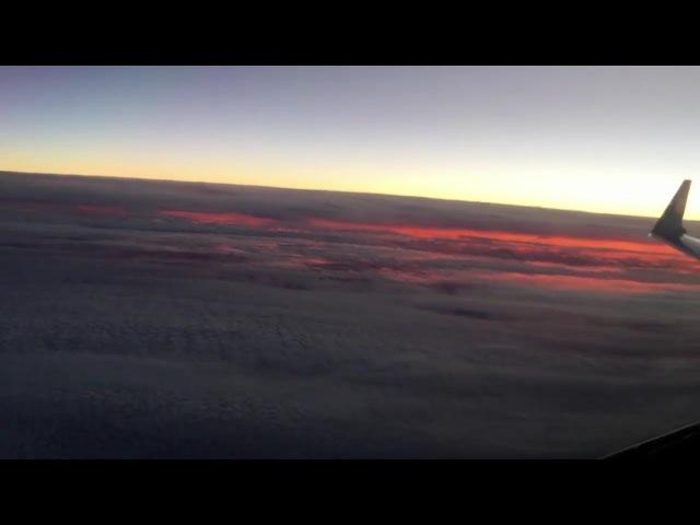 30 секундное видео, которое уничтожает теорию плоской земли.
