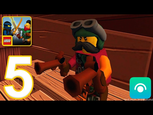 LEGO Ninjago: Skybound - Gameplay Walkthrough Part 5 - Levels 10-11 (iOS, Android)