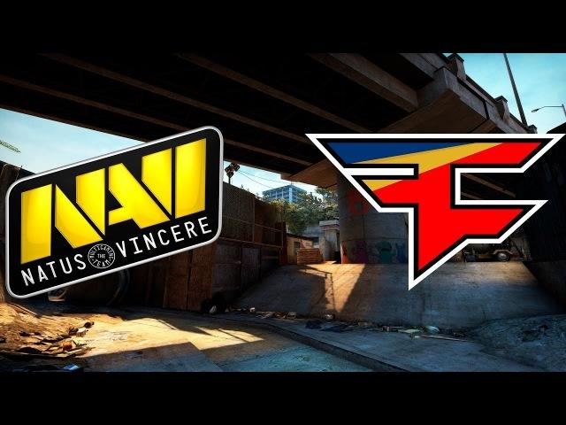 🔴 NaVi vs Faze @ 1 map de overpass 🏆 HIGHLIGHTS 🏆 StarSeries i League Season 4