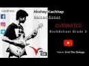 Overrated Rockschool Guitar Grade 3 Cover Feel The Strings VTV