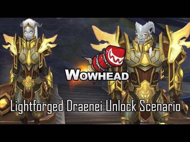 Lightforged Draenei Allied Race Unlock Scenario