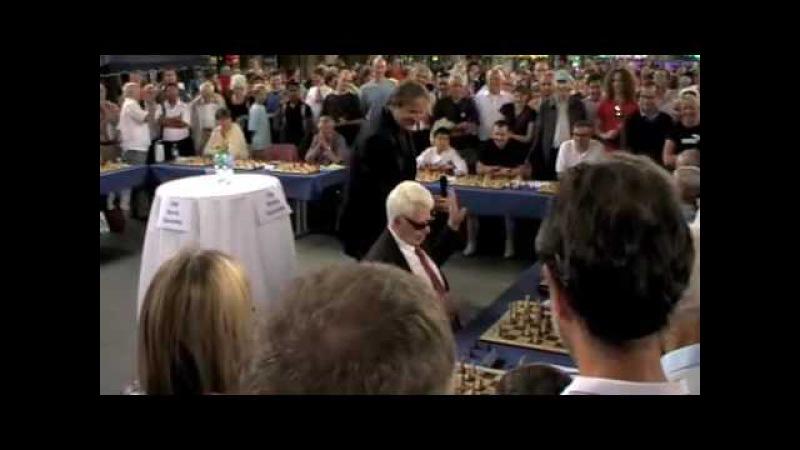 Boris Spassky simultaneous exhibition Zurich 2009