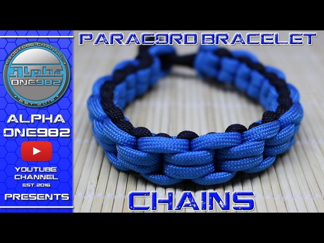 How To Make Paracord Bracelet Chained Endless Falls by TIAT - Mad Max Edition