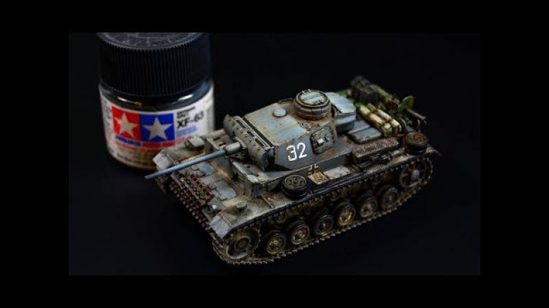 Panzerkampfwagen PzKpfw III Ausf.L 172 Revell - Tank Model