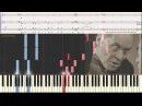 Тема Воланда - Корнелюк Игорь (Хор) (Ноты и Видеоурок для фортепиано) (piano cover)