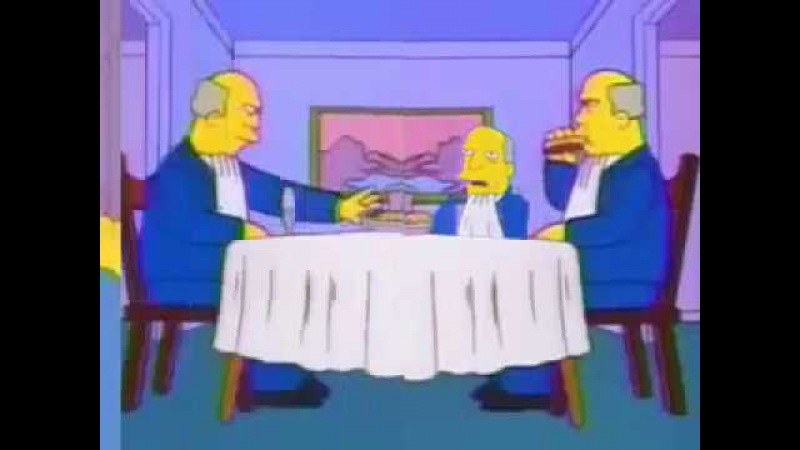 Steamed Hams but reality is contorted