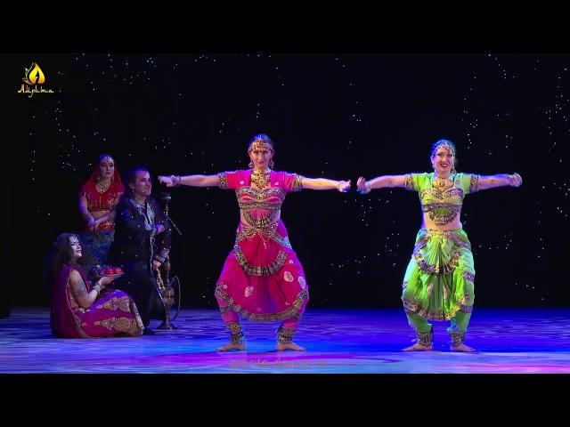 Легенда об Амрапали | Ансамбль Амрита (Москва) | Indian dance Amrapali