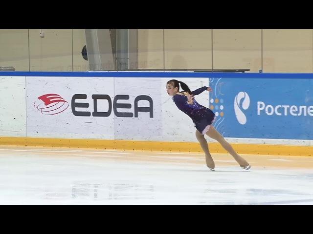 Анастасия Тараканова ПП Финал Кубка России 2018