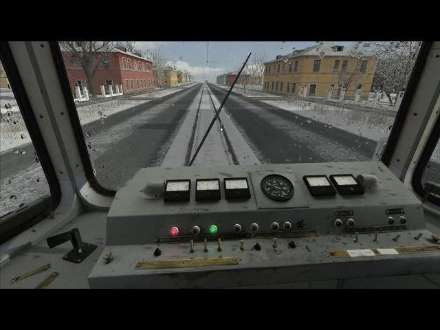 Train Simulator 2018 трамвай ктм 5 (71-605) работа реле , звуки панта