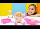 Kız çocuk oyunları. Chelsea Ayşe'nın bebek bakım eve öncesi eğitici çocuk oyunları!