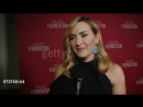 INTERVIEW - Kate Winslet on the event and honor at SAG-AFTRA Foundation Patron of the Arts Awards in Los Angeles, CA 11/9/17