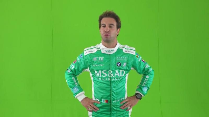 Da Costa does Anchorman - Formula E