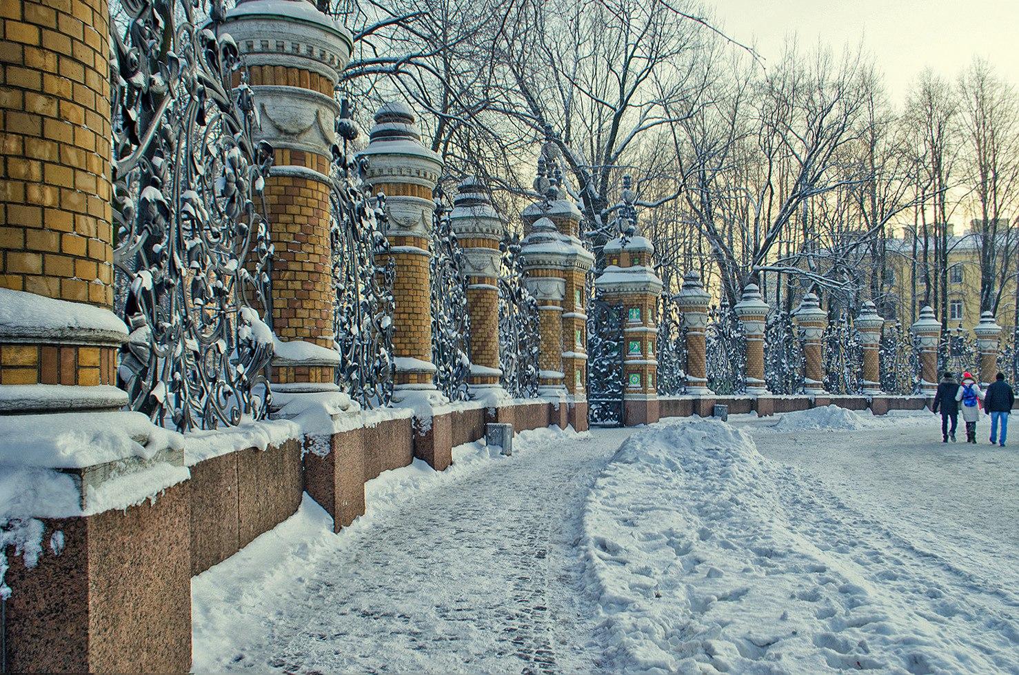 В Санкт-Петербург пришли снег и морозы