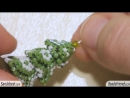 Christmas tree Tutorial - Beaded Christmas tree - DIY Christmas tree - Beading T