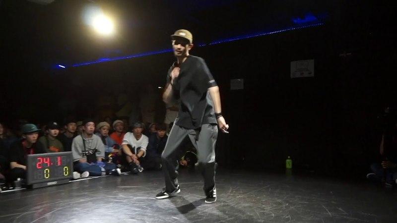 Dee vs RYO aka DJ226_THE GAME[HOUSE SIDE]_BEST16 BATTLE_2018.5.6