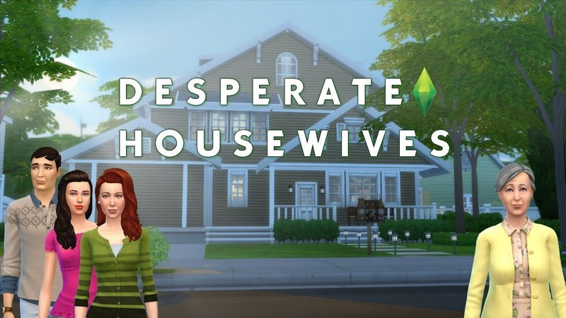 Дом Кэтрин Мэйфеир в Sims 4 (Отчаянные домохозяйки)