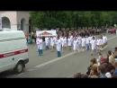 Праздничное шествие в гор. Вышний Волочёк Тверской области.
