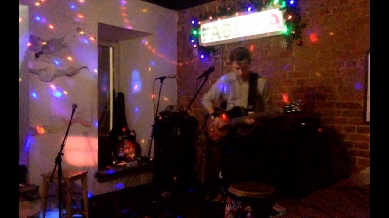 Ирина Верченова-группа 1,5- Zемлекопа, и Артём Сычев live@Fabrika party hostel