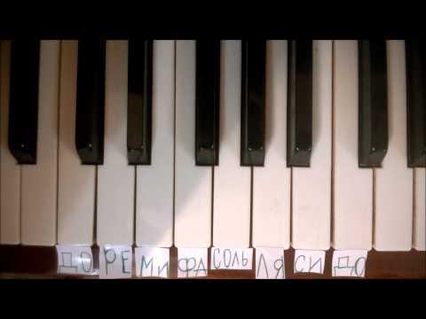 Фортепиано для первоклашек Мелодия из м ф Маша и Медведь