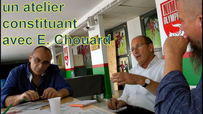 Immersion dans un atelier constituant avec Étienne Chouard et Gilles Heure-ka