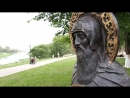 Полеты над Северной Фиваидой Фильм 4 Основание Вологды Лазаревский храм часовня преп Герасима HD