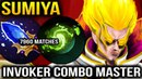 Sumiya Invoker Combo Master 7960 Matches Dota 2