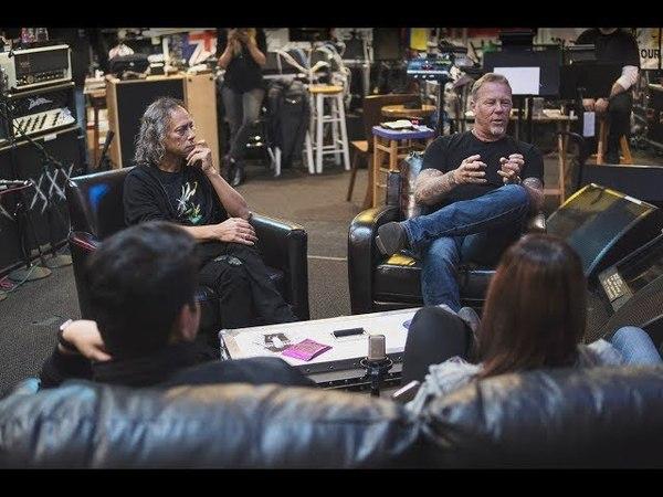 The Hetfield Hammett Experience Tour of Metallica HQ