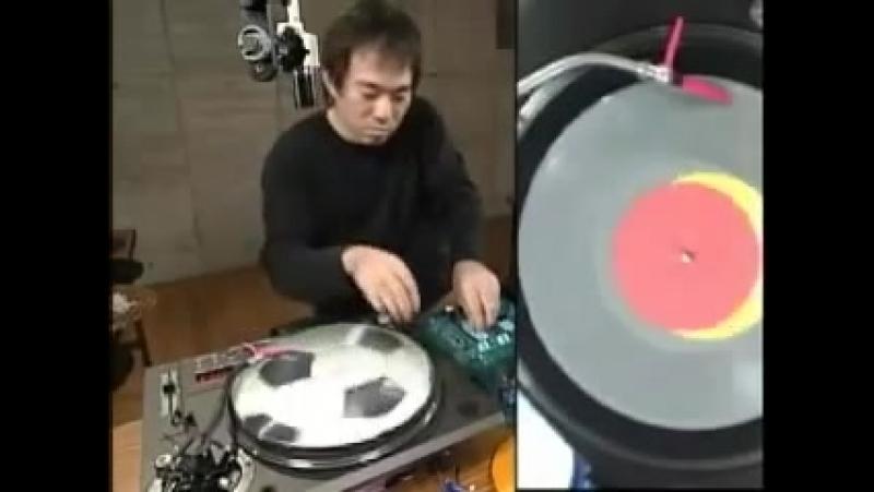 Otomo Yoshihide - Turntable solo from TV Show Doremi