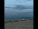 Майское вечернее море в Затоке отель Каролинка