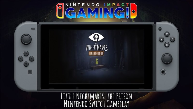 Little Nightmares: The Prison | Nintendo Switch Gameplay
