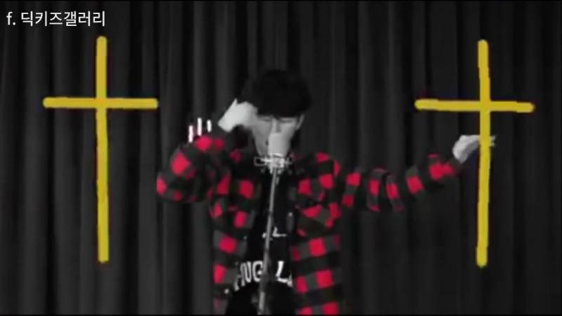 딕키즈 크루 B-NOM (김세령,비놈) 고등래퍼 지원영상   DICKIDS