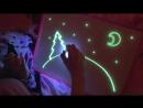 Детский набор для рисования в темноте РИСУЙ СВЕТОМ