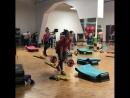 Презентация Iron Cross🏋🏻♀️💪🏼 силовая низкоударная тренировка с мини штангами🏋🏽♀️ для продвинутого уровня Hot Iron ⬆️⬆️👍🏼 п