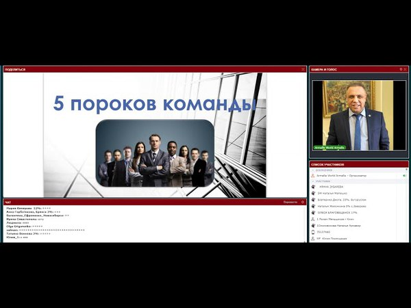 Школа 5 ПОРОКОВ КОМАНДЫ ! от 26.04.18 спикер Дмитрий глухих